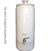 Ultra slim white pearl water purifier