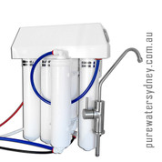 Alkaline 5 stage reverse osmosis undersink system