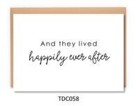 TDC058 - Happily ever after