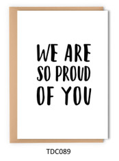 TDC089 - We are so proud of you