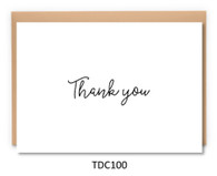 TDC100 - Thank you