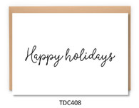 TDC408 - Happy Holidays