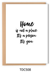 TDC508 - Home is you