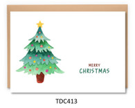 TDC413 - Green Christmas Tree