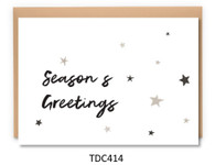 TDC414 - Season's Greetings Stars