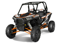 CHARGER ORANGE RZR 1000 XP Graphics Kit