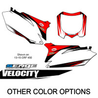 VELOCITY RED MX NUMBER BACKGROUNDS