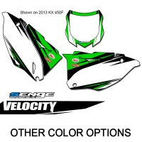 VELOCITY GREEN MX NUMBER BACKGROUNDS