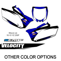VELOCITY BLUE MX NUMBER BACKGROUNDS