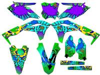 ZANY KX 250F Graphics Kit