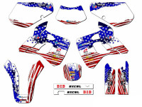 MERICA KDX 250 Graphics Kit