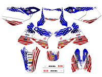 MERICA DRZ 400 Graphics Kit