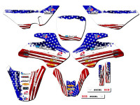 MERICA JR 50 Graphics Kit