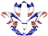 MERICA KFX 450R Graphics Kit