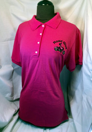 Cruiser Girl Motorcycle Jersey Style Polo Shirt