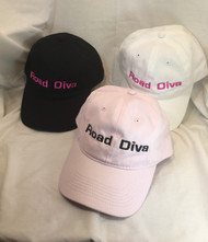 Cotton 100% Sizes One Size Colors Black, White and Light Pink Features:  100% cotton twill 6-panel, unstructured, low-profile Velcro® closure Sewn eyelets