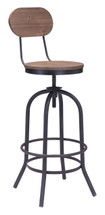Twin Peaks Bar Chair By Zuo Era