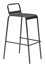 Saccas Barstool By Zuo Era (Set Of Two)