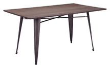 Titus Rectangular Dining Table By Zuo Era
