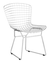 Wire Dining Chair By Zuo Modern