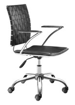 Criss Cross Office Chair By Zuo Modern