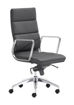 Engineer High Back Office Chair By Zuo Modern