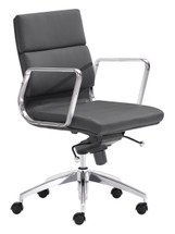 Engineer Low Back Office Chair By Zuo Modern
