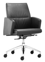 Chieftain Low Back Office Chair By Zuo Modern