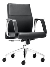 Conductor Low Back Office Chair By Zuo Modern