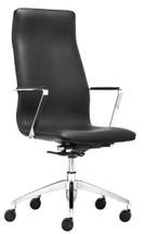 Herald High Back Office Chair By Zuo Modern