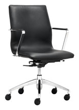 Herald Low Back Office Chair By Zuo Modern