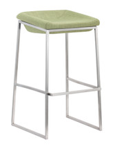 Lids Barstool By Zuo Modern (Set Of Two)