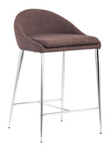 Reykjavik Counter Chair By Zuo Modern (Set Of Two)