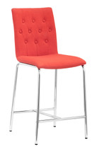 Uppsala Counter Chair By Zuo Modern (Set Of Two)