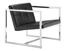 Carbon Occasional Chair By Zuo Modern