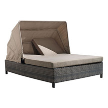 Siesta Key Double Chaise Lounge By Zuo Vive