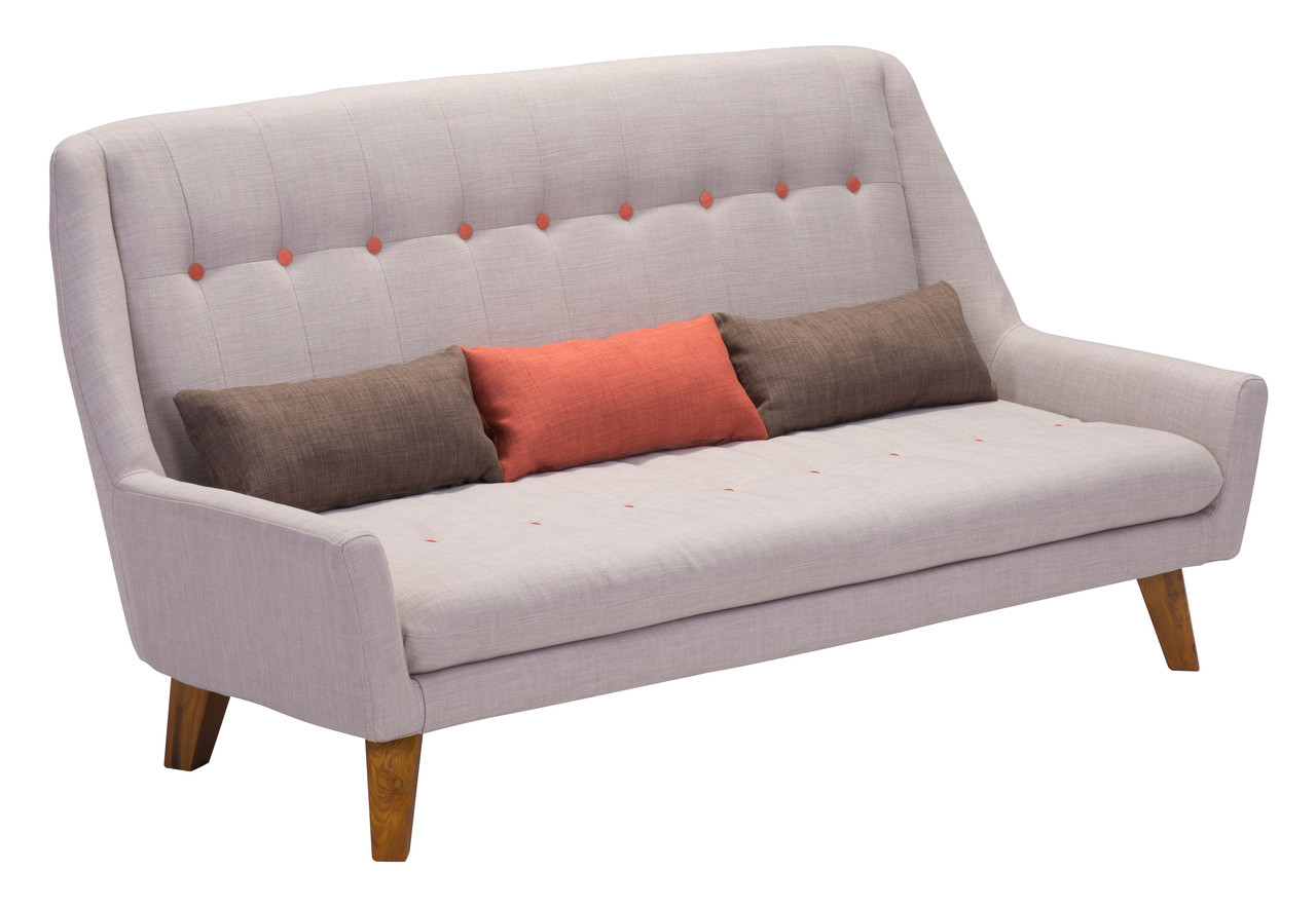 Magnificent Namur Sofa By Zuo Modern Laurel At Sunset Inc Andrewgaddart Wooden Chair Designs For Living Room Andrewgaddartcom