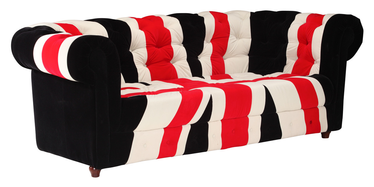 Super Union Jack Sofa By Zuo Modern Laurel At Sunset Inc Andrewgaddart Wooden Chair Designs For Living Room Andrewgaddartcom