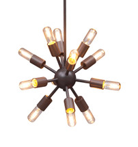 Sapphire Ceiling Lamp Small By Zuo Pure