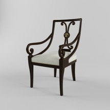 Model of Marianna Arm Chair TA-4100-837.1AIK