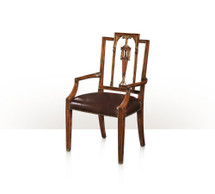 Formal Lines Armchair