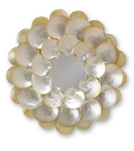 Mother-of-Pearl Mirror By Currey & Company