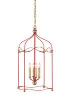 Carousel Lantern By Currey & Company