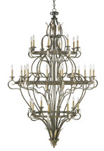 Trinidad Chandelier By Currey & Company
