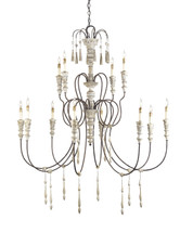 Hannah Chandelier, Large By Currey & Company