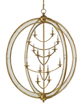 Aphrodite Chandelier, Large By Currey & Company