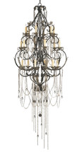 Antiquity Chandelier, Large By Currey & Company