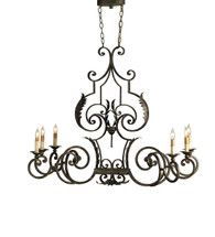Assurance Oval Chandelier By Currey & Company