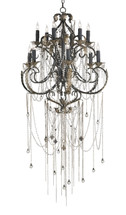 Antiquity Chandelier By Currey & Company