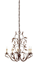 Arcadia Chandelier, Small By Currey & Company